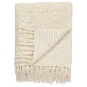 Lovell Antique White Throw