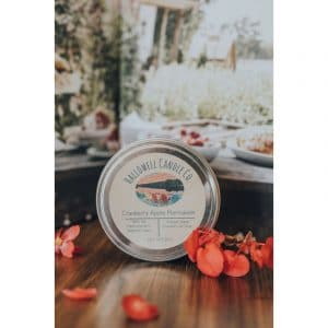 Cranberry Apple Marmalade Soy Candle