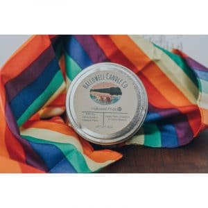 Hallowell Pride Soy Candle