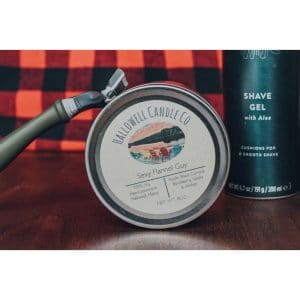 Sexy Flannel Guy Soy Candle