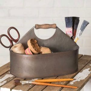 CRAFT ROOM CADDY WITH HANDLE